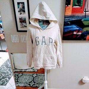 ⬇️💦 Gap Oatmeal Pullover Hoodie Sweatshirt